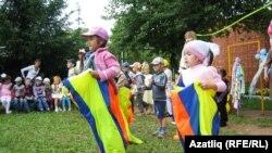 Ижау балалар бакчасында Сабантуй