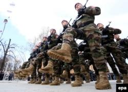 Бойцы спецназа Республики Сербской
