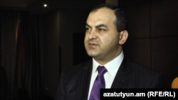 Armenia -- Prosecutor-General Artur Davtian.