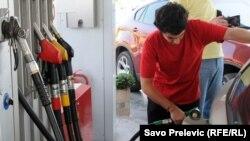 Jedna od pumpi u Crnoj Gori