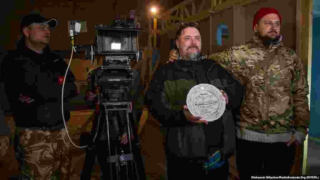 В Україні розпочалися зйомки фільму про опір тральщика «Черкаси» під час анексії Криму, 19 квітня 2017 року
