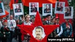 Шествие «Бессмертного полка» на мероприятиях, посвященных к российскому Дню победы в Севастополе, 9 мая 2019 года