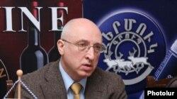 Руководитель ереванского офиса ОБСЕ Сергей Капинос на пресс-конференции, Ереван, 15 марта 2010 г.