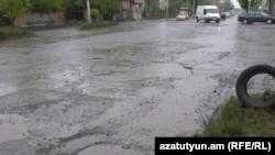 Փողոց Գյումրիում