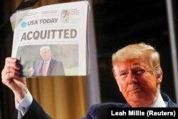 Дональд Трамп оправдан в результате процесса импичмента. 6 февраля 2020 года
