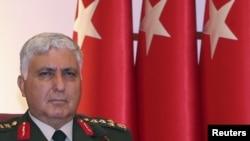 Новый начальник генерального штаба турецкой армии Недждет Озель. Анкара, 1 августа 2011 года.