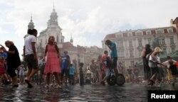 Прага. Тарихи алаң. 6 тамыз 2013 жыл.
