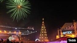 Новий рік в «Артеку», архівне фото