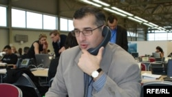 Корреспондент грузинской службы Радио Свобода Коба Ликликадзе