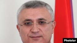 Armenia - Garegin Azarian, chairman of the Central Election Commission who died on September 9, 2011.