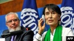 دبرما نوبل انعام ګټونکې میرمن انګ سان سوچي