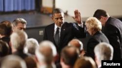 Barack Obama në Njutaun