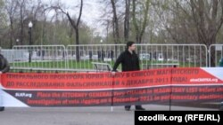 Активісти на Болотній площі, Москва, 6 травня 2015 року