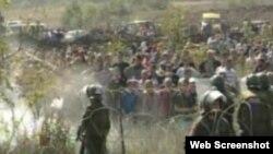 Судири на граничниот премин Јариње