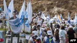 Митинг в поддержку Гилада Шалита