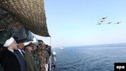 İran ordusu Oman dənizində hərbi təlimlər keçirir, 31 dekabr 2014