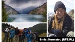 Хилла Ливне (на фото справа) – туристка из Израиля, пропавшая в горах Кыргызстана.