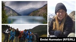 Хилла Ливне (на фото справа) - туристка из Израиля, пропавшая в горах Кыргызстана.
