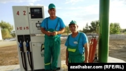 На топливной станции, Туркменистан (Иллюстративное фото)