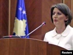 Presidentja e Republikës së Kosovës, Atifete Jahjaga.