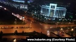 Ашхабад после дождя, 16 мая, 2017