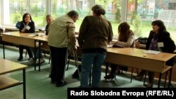 Macedonia - | Macedonia votes to elect new president. Presidential Elections 2014. Skopej- macedonia - 13/4/2014