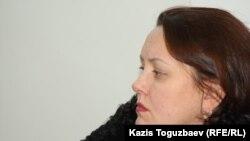 """Ганна Красильникова, юрист прессозащитной организации """"Адил соз"""". Алматы, 20 декабря 2012 года."""