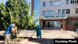 Душанбедегі аурухана.