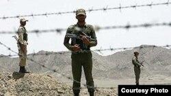 Иран әскери қызметкерлері (Көрнекі сурет).