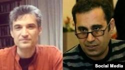 محمد حبیبی (تصویر سمت راست) و فرهاد میثمی به ترتیب به هفت سال و پنج سال زندان محکوم شدهاند
