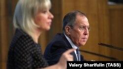 Sergej Lavrov na godišnjoj konferenciji za medije, Moskva