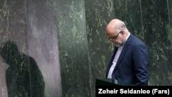 Bijan Namdar Zanganeh - Iranian Oil Minister in parliament. Undated. FILE PHOTO
