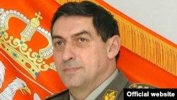 Началникот на Генералштабот на српската армија, генерал Љубиша Диковиќ.