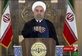 Специальное выступление Хасана Рухани. Тегеран, 14 июля