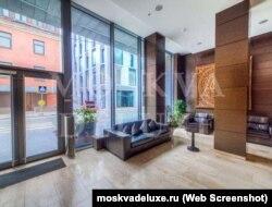 Холл в ЖК Barkli Plaza в Москве