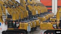 Дорожные строительные машины американского производства (иллюстративное фото)