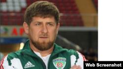 Chechnya -- An Instagram screenshot of Ramzan Kadyrov.