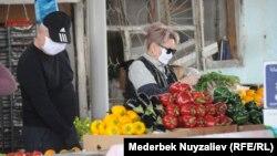 Рынок в Оше. Иллюстративное фото.