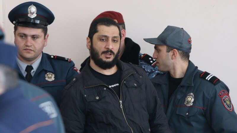 Main Suspect In Armenian 'Coup Plot' Freed