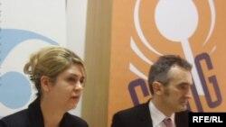 Sandra Pernar i Zorislav Antun Petrović, Foto: Enis Zebić