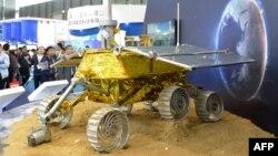 مدل این کاوشگر در نمایشگاه بینالمللی صنعتی در شانگهای