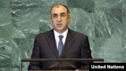 Министр иностранных дел Азербайджана Эльмар Мамедъяров