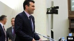 Премиерот Зоран Заев на Седница на собраниската Комисија за европски прашања.