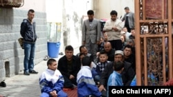 China has been accused of rights abuses in Xinjiang Province, which is home to many Uyghur Muslims. (file photo)