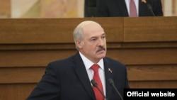 Presidenti bjellorus Alyaksandr Lukashenka
