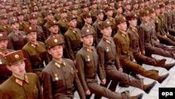 Şimali Koreya ordusunun paradı