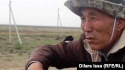 Арнасай ауылынан көшіп келген Пердебай Күшікбаев. 16 мамыр 2018 жыл
