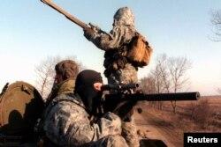 Российские солдаты в Чечне, март 1996 года
