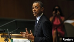 U.S. President Barack Obama challenged world leaders to stand united against anti-American violence as he addressed delegates at the 67th UN General Assembly on September 25.