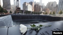 Мемориал памяти жертв терактов 11 сентября 2001 года в Нью-Йорке
